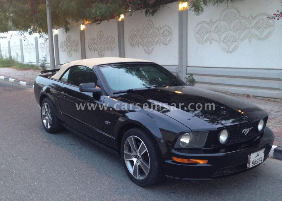 2008 Ford Mustang GT Deluxe Convertible for sale in Qatar - New and ...