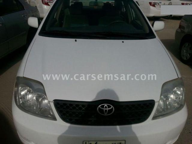 2004 Toyota Corolla XLi 1.8