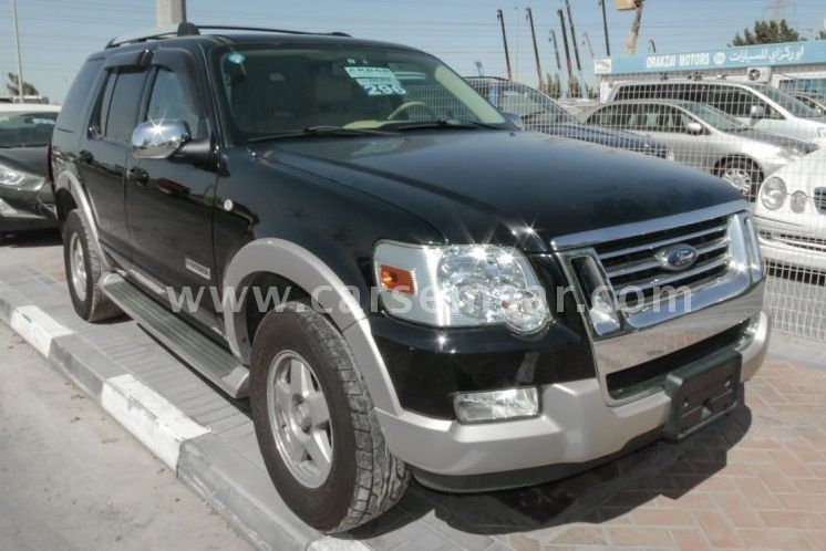 2006 ford explorer 4 6 xlt 4x4 for sale in united arab emirates new and used cars for sale in. Black Bedroom Furniture Sets. Home Design Ideas