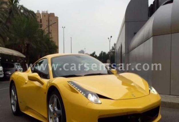 2012 Ferrari Italia Spyder 458
