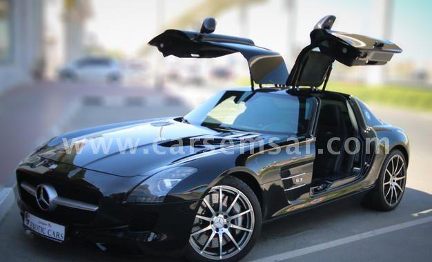 2012 Mercedes-Benz SLS 63