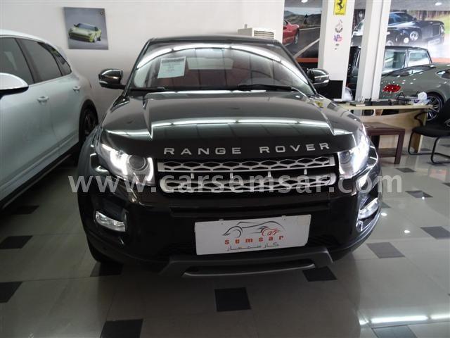 2012 لاند روفر رنج Range Rover Evoque