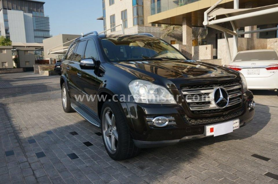 2009 mercedes benz gl class gl 550 4matic for sale in for Mercedes benz bahrain