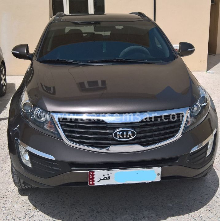 2012 Kia Sportage Interior: 2012 Kia Sportage 2.4 Crdi For Sale In Qatar