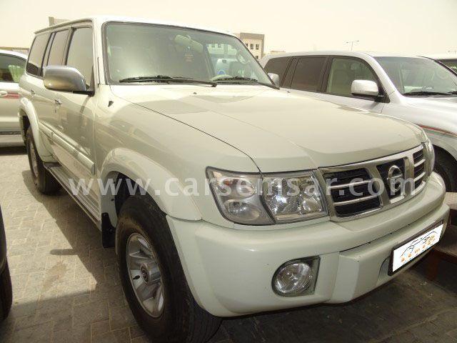 2002 Nissan Patrol  Safari