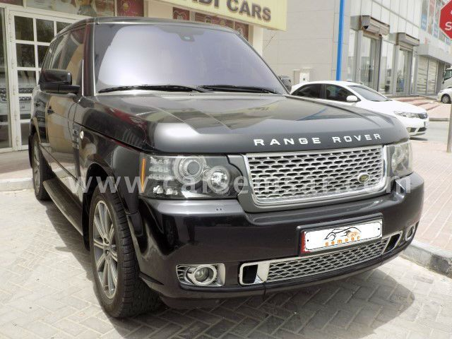 2012 land rover range rover vogue supercharged for sale in qatar new and used cars for sale in. Black Bedroom Furniture Sets. Home Design Ideas
