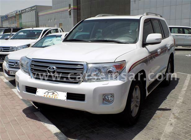 2012 Toyota Land Cruiser GXR V8