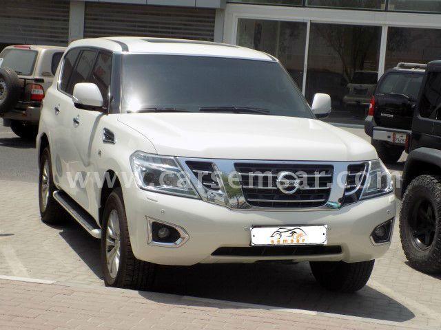 2015 Nissan Patrol Platinum SE