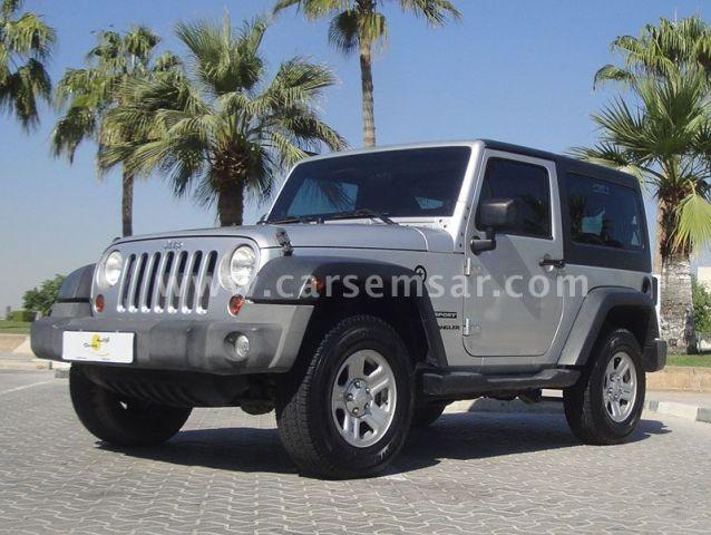 2012 Jeep Wrangler 3.6 Sport