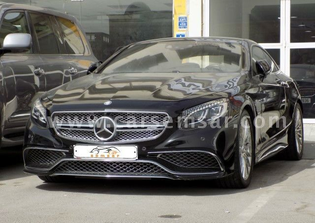 2015 Mercedes-Benz S-Class S 65 Coupe