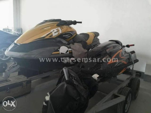 Jet Ski + Super Jet + double trailer for sale in Bahrain - New and