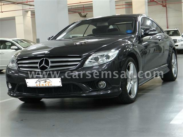 2009 mercedes benz cl class cl 500 for sale in qatar new. Black Bedroom Furniture Sets. Home Design Ideas