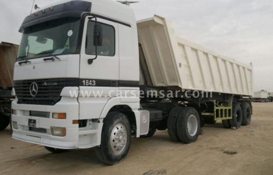 2002 Mercedes-Benz Actros 1843 for sale in Qatar - New and