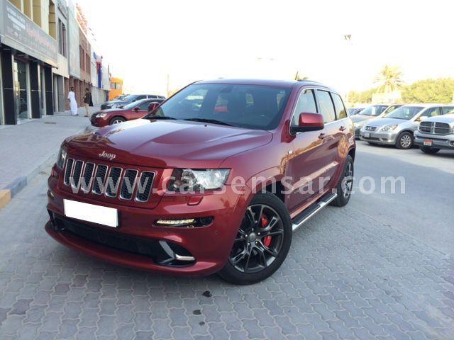 2013 jeep grand cherokee srt8 for sale in bahrain new and used cars for sale in bahrain. Black Bedroom Furniture Sets. Home Design Ideas