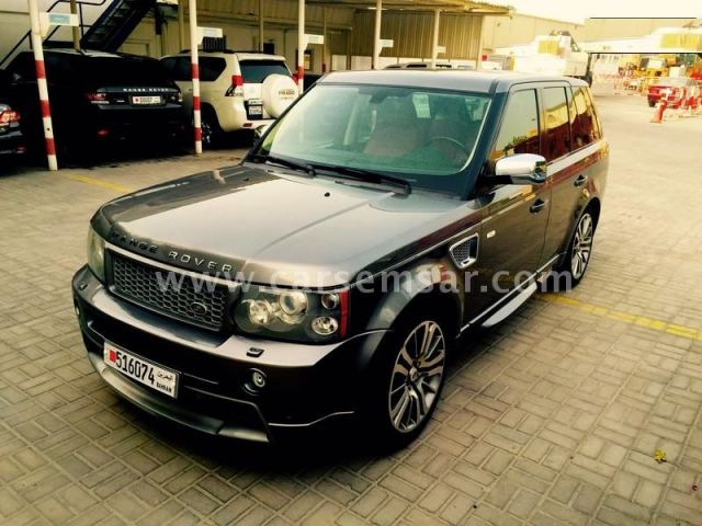2009 land rover range rover sport supercharged for sale in bahrain new and used cars for sale. Black Bedroom Furniture Sets. Home Design Ideas