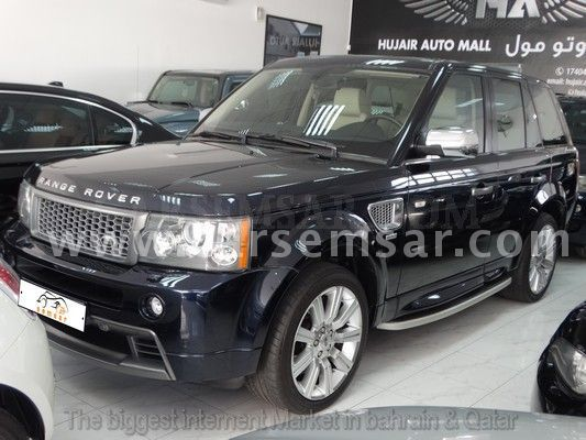 2009 land rover range rover hst sport supercharged for sale in bahrain new and used cars for. Black Bedroom Furniture Sets. Home Design Ideas