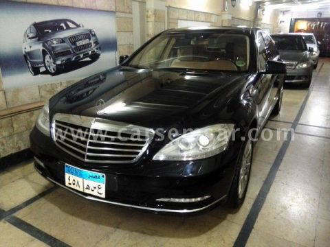2010 مرسيدس بنز الفئه S 500