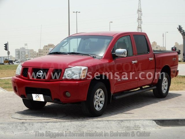 2006 nissan titan 5 6 se for sale in bahrain new and used cars for sale in bahrain. Black Bedroom Furniture Sets. Home Design Ideas