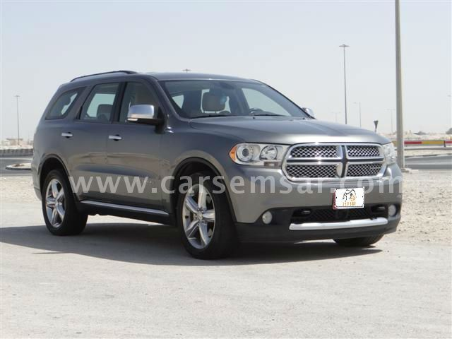 2011 dodge durango citadel for sale in qatar new and used cars for sale in qatar. Black Bedroom Furniture Sets. Home Design Ideas