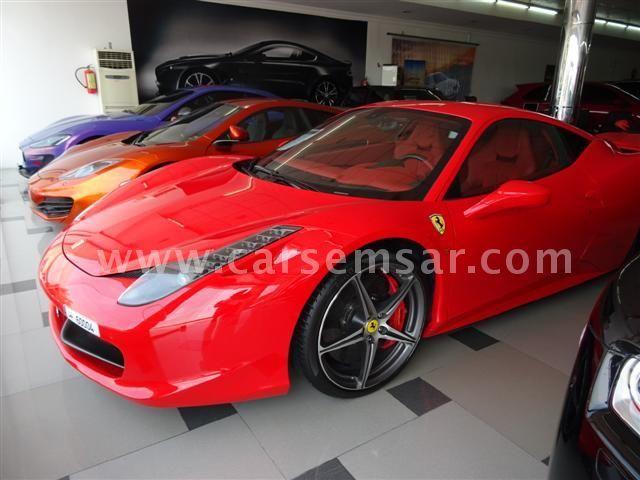2011 Ferrari Italia Spyder 458