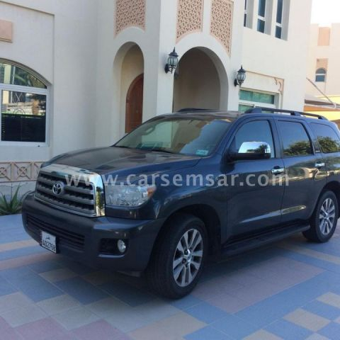 2009 toyota sequoia limited for sale in qatar new and used cars for sale in qatar. Black Bedroom Furniture Sets. Home Design Ideas