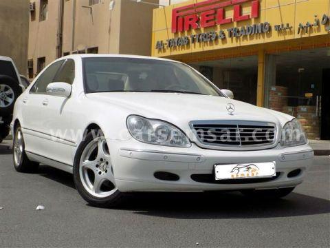 2002 Mercedes-Benz S-Class S 320