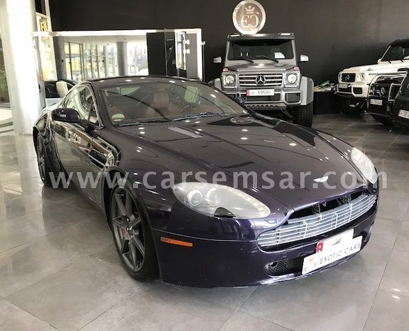 2008 Aston Martin Vantage V8 For Sale In Qatar New And Used Cars