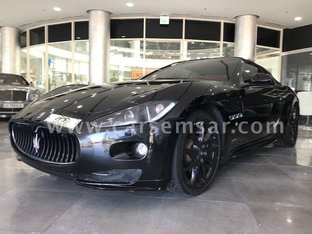 2012 Maserati Gran cabrio sport