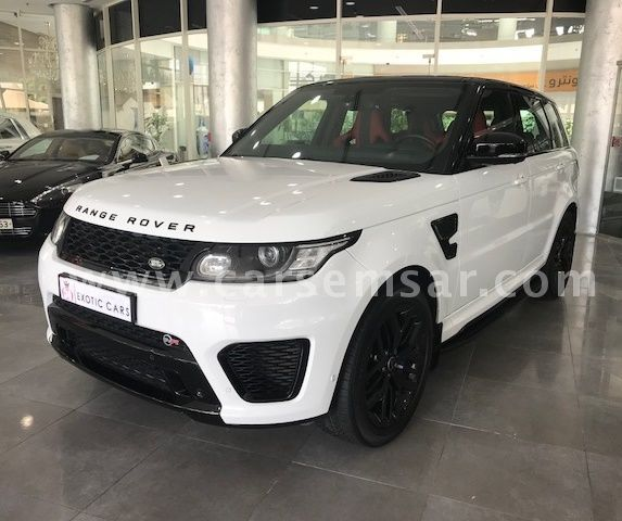 2015 Land Rover Range Rover Sport SVR For Sale In Qatar