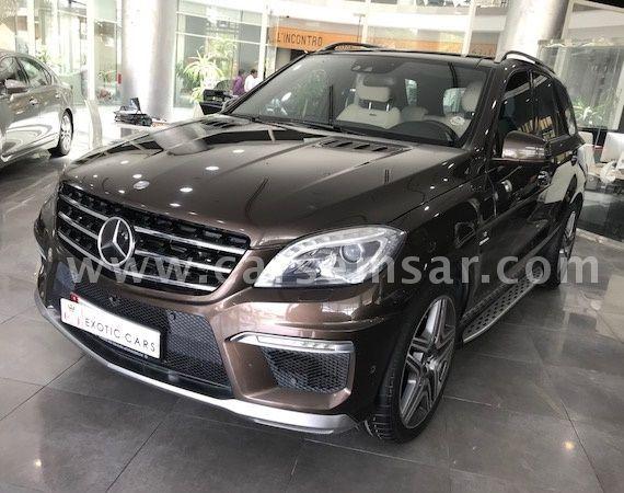 2014 Mercedes-Benz ML-Class ML 63 AMG