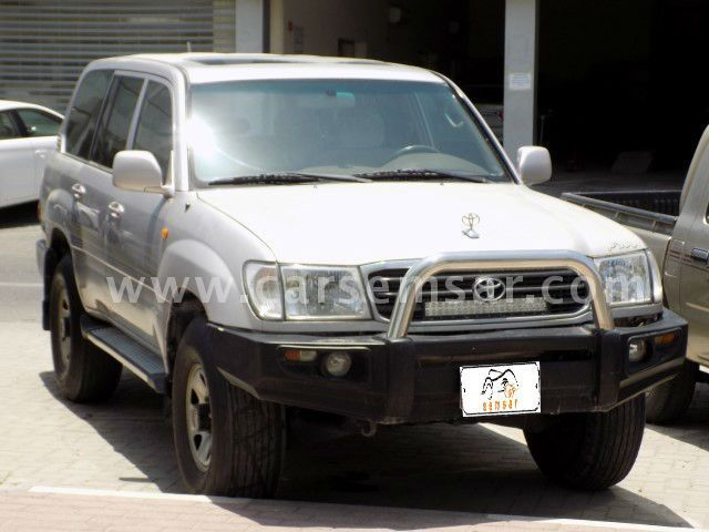 2002 Toyota Land Cruiser GX