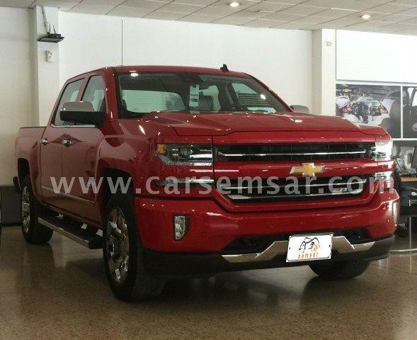 2017 Chevrolet Silverado Crew Cab LTZ