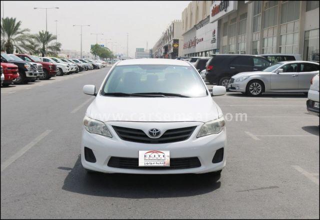 2012 Toyota Corolla XLi 1.8