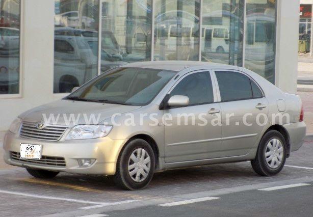 2006 Toyota Corolla XLi 1.8