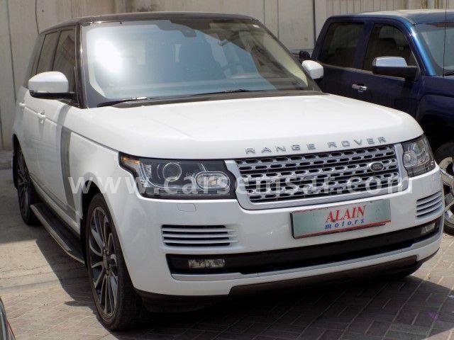 2015 Land Rover Range Rover Vogue Supercharged SE
