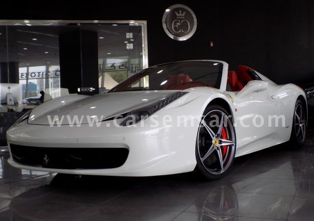2014 Ferrari Italia Spyder 458