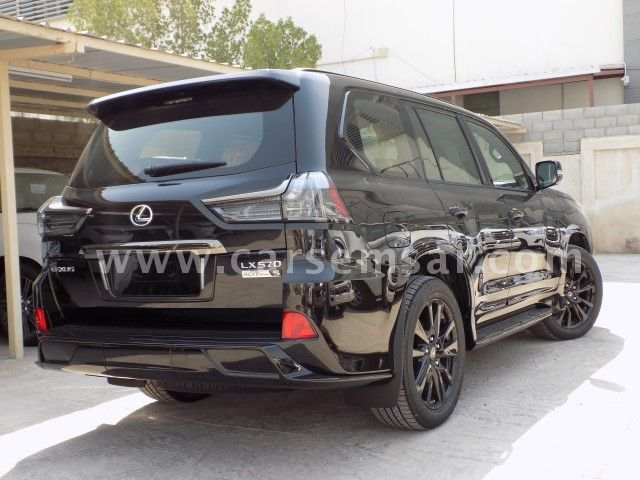 Used Cars Mobile Al >> 2019 Lexus LX 570 Black Edition Sport for sale in Qatar - New and used cars for sale in Qatar
