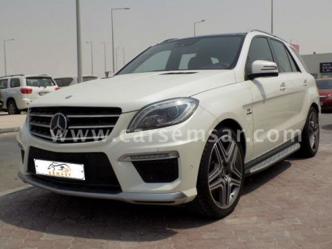 2013 Mercedes-Benz ML-Class ML 63 AMG