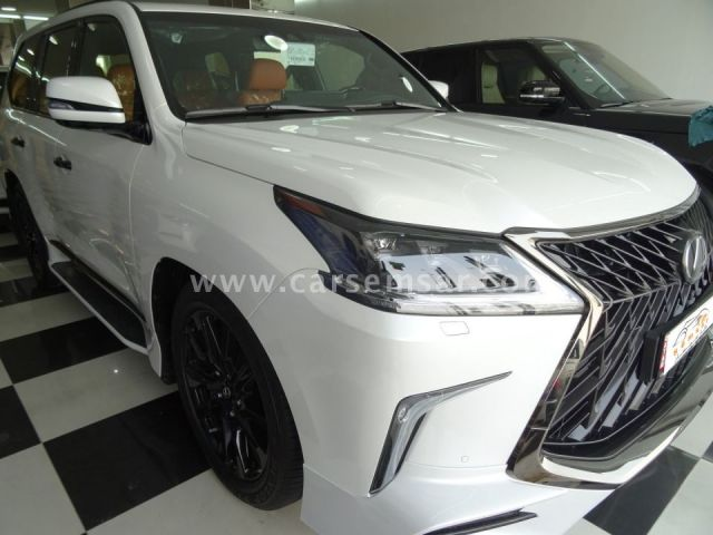 2019 Lexus Lx 570 Black Edition Sport For Sale In Qatar New And