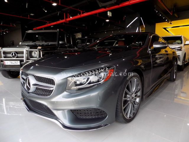 2016 Mercedes-Benz S-Class S 550 Coupe