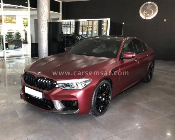 2018 BMW M5 First Edition