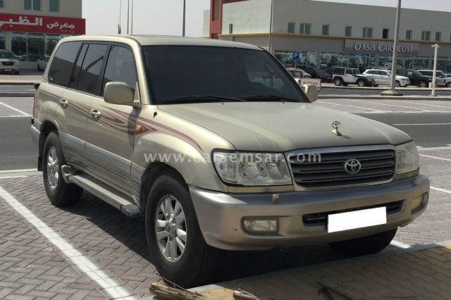 2004 Toyota Land Cruiser GXR
