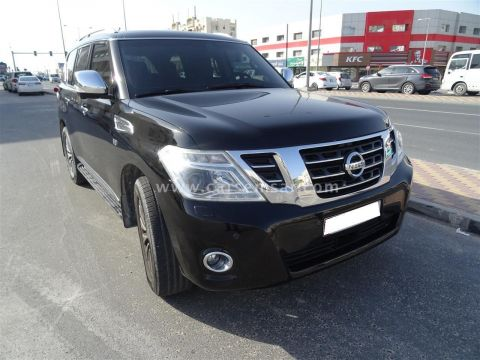 2014 Nissan Patrol Platinun LE VIP Edition