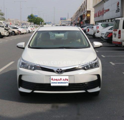 2017 Toyota Corolla XLi 1.6