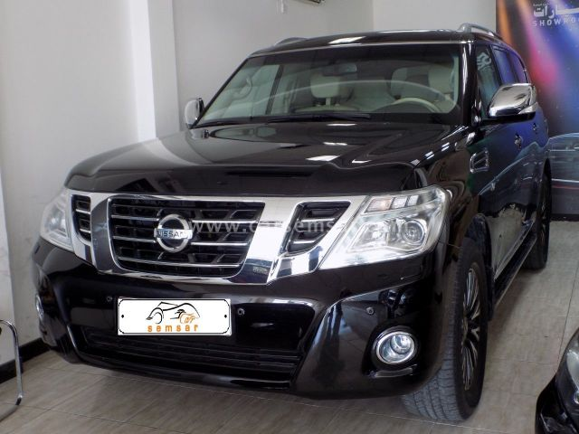 2016 Nissan Patrol Platinum LE