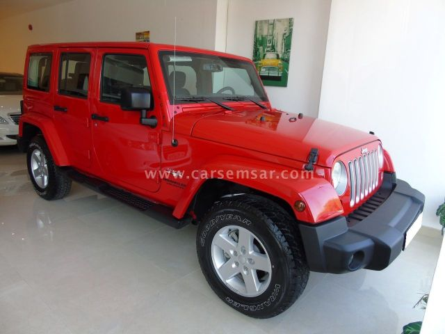 2016 Jeep Wrangler 3.8 Unlimited Sahara