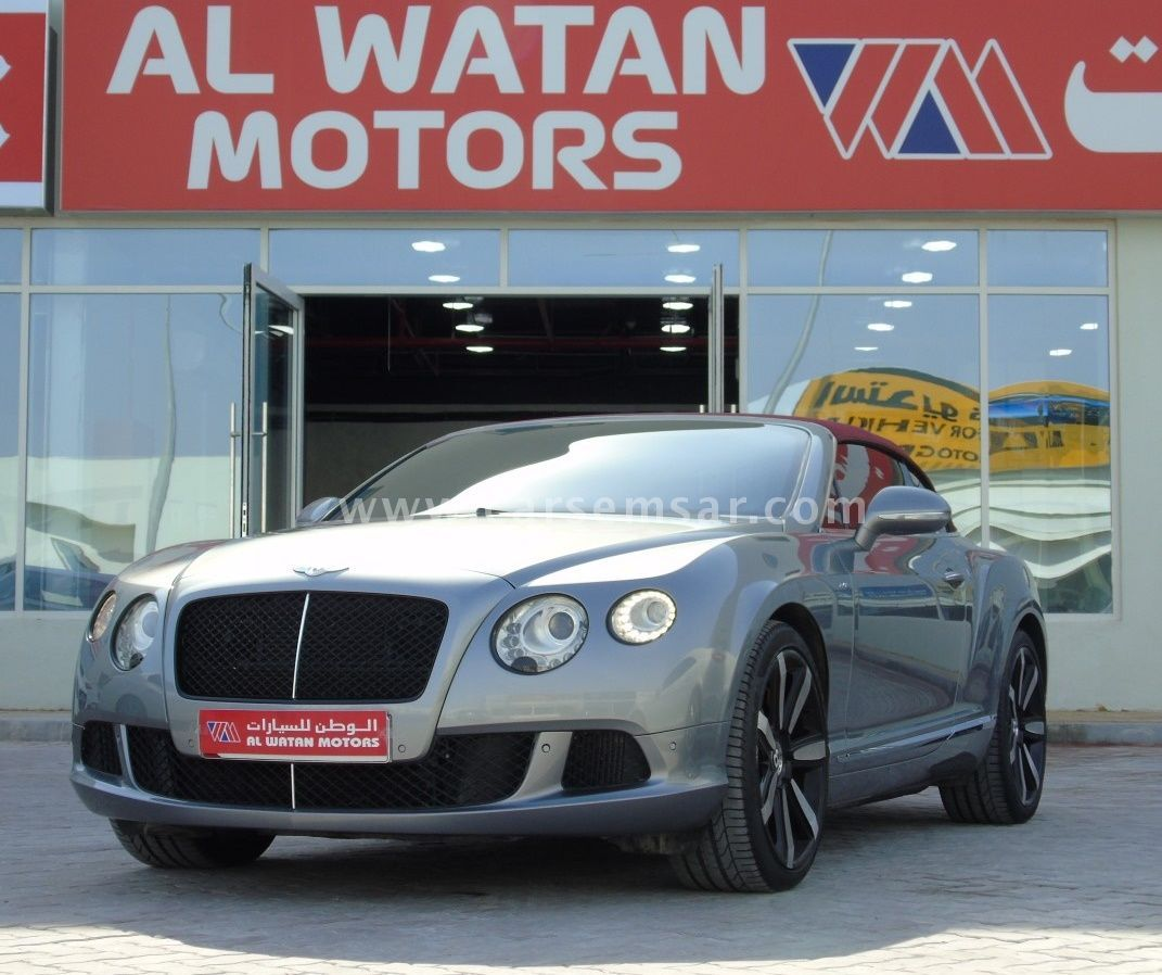 2014 Bentley Continental GTC For Sale In Qatar