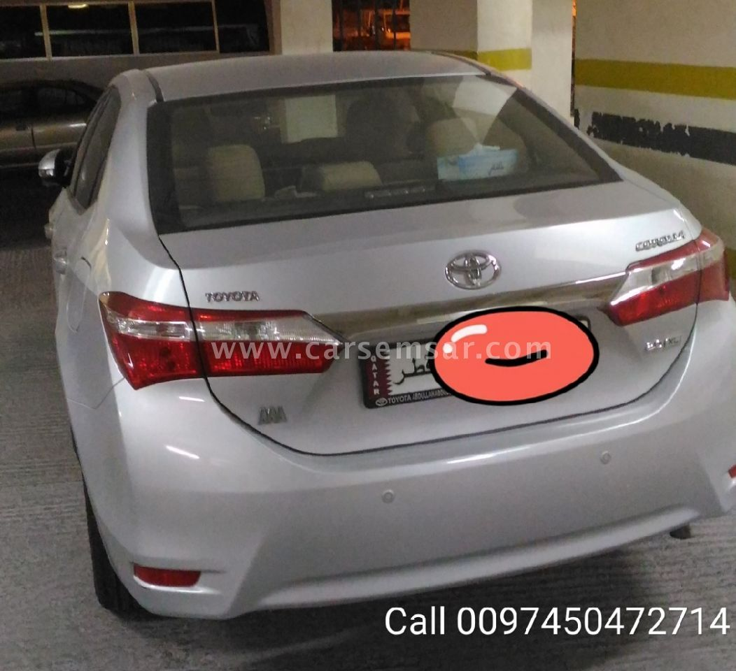 2014 Toyota Corolla 2 0 Xli For Sale In Qatar New And Used Cars For