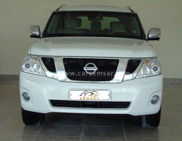 2012 Nissan Patrol LE Diamond Edition