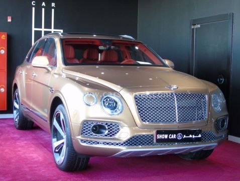 2017 Bentley Bentayga First Edition